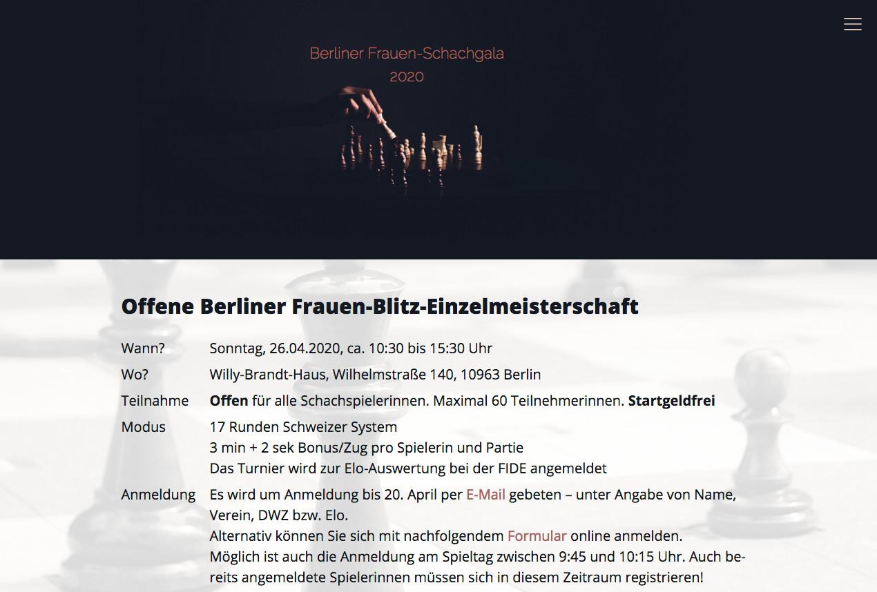 Berliner Frauen-Schachgala